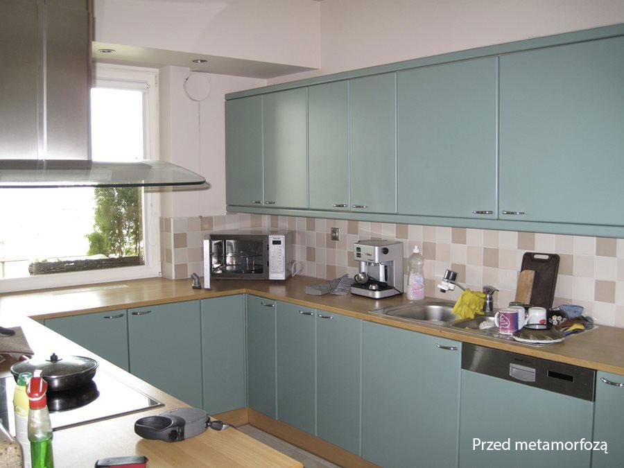 Metamorfoza kuchni w nowoczesnym stylu  Architektura, wnętrza, technologia,
