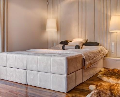 Przestronna sypialnia - Ekskluzywne sypialnie