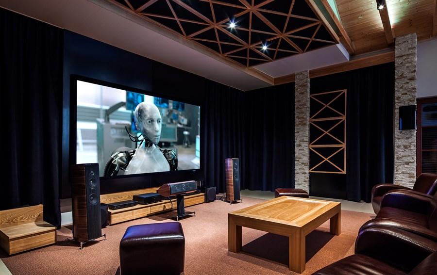 Kino domowe w salonieKino domowe w salonie
