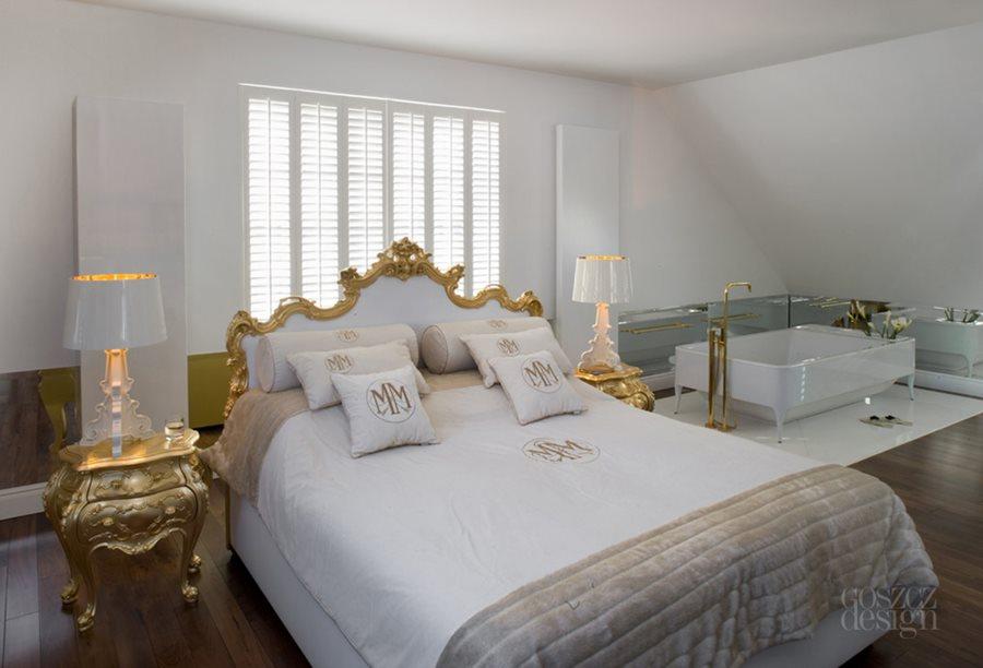 Sypialnia w stylu klasycznym - eksklzuywne sypialnie