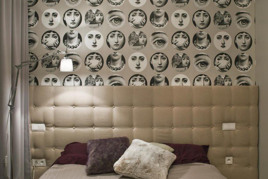 Oryginalna tapeta do sypialni - Architektura, wnętrza, technologia, design - HomeSquare