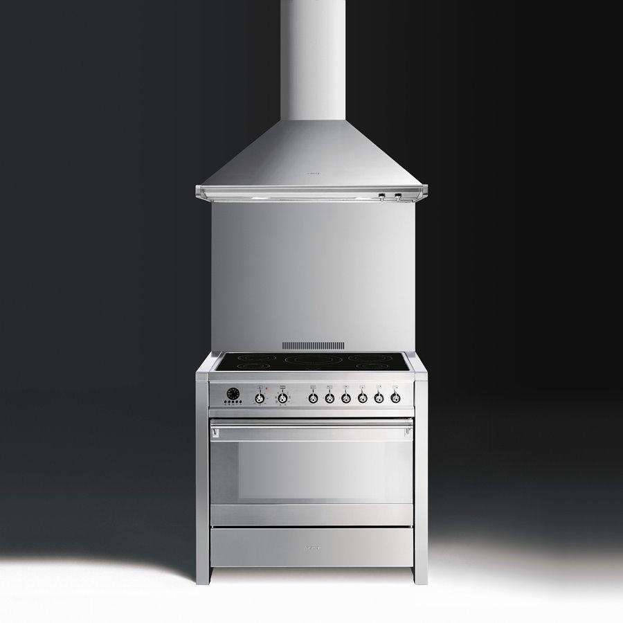 kuchnia wolnostoj�ca 90 cm cs19id7 classica smeg