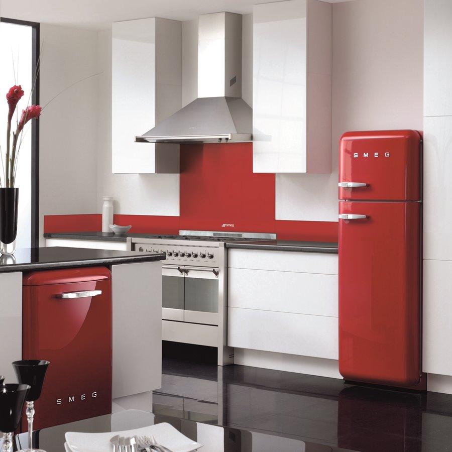 Kuchnia wolnostojąca 100 cm A2 8 CLASSICA SMEG  Architektura, wnętrza, techn