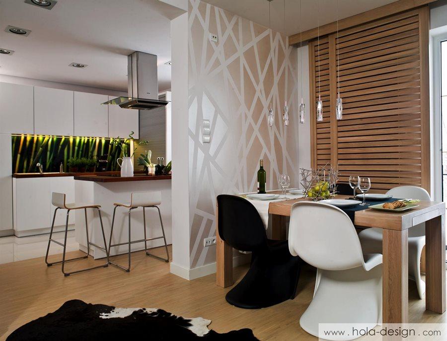 projekt ma�ego salonu z jadalni� architektura wnętrza