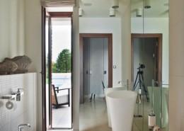 Łazienka w lustrach