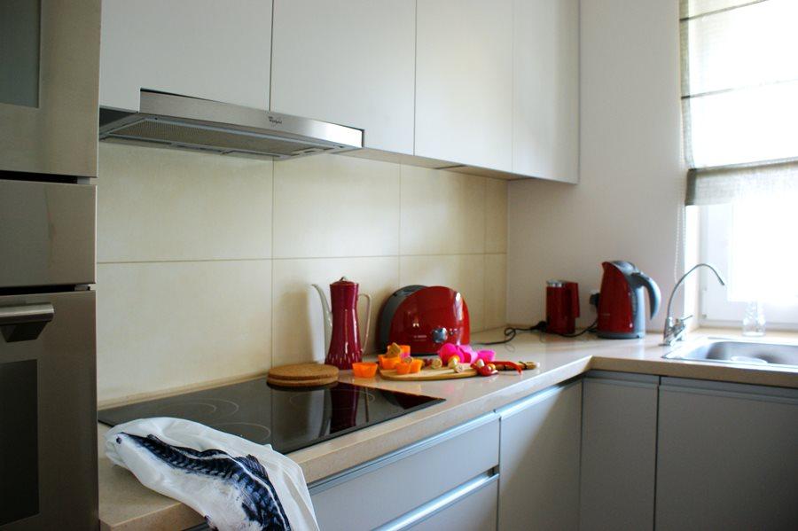 Salon w stylu vintage połączony z kuchnią  Architektura, wnętrza, technologi   -> Kuchnia Nowoczesna I Retro