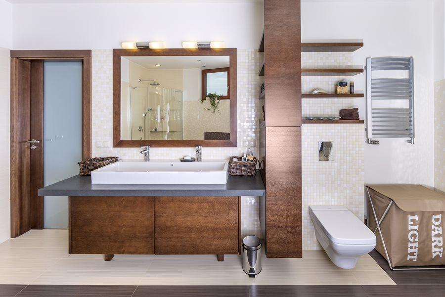Drewniane meble do łazienki