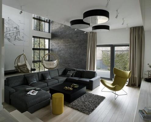 Mieszkanie w stylu bauhaus