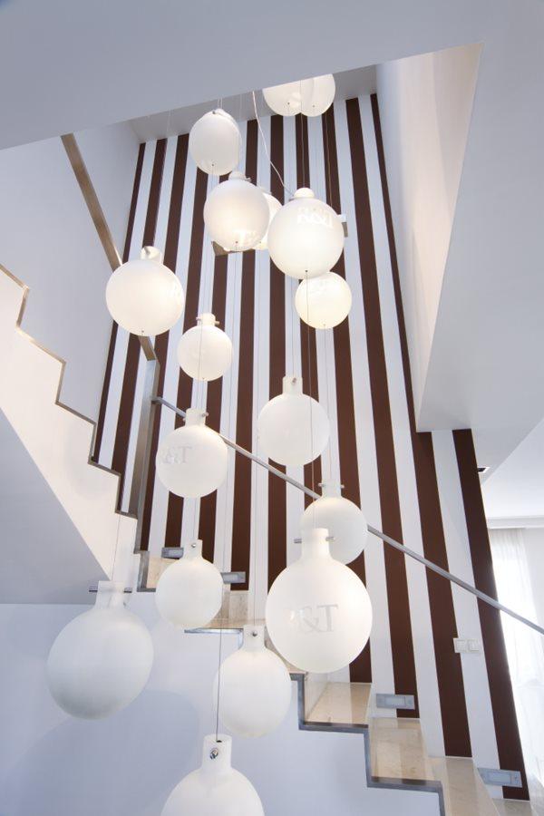 otwarta klatka schodowa w nowoczesnej formie inspiracja. Black Bedroom Furniture Sets. Home Design Ideas