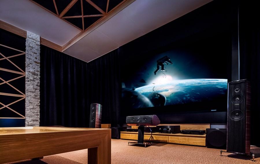 Kino Domowe W Salonie Inspiracja Homesquare