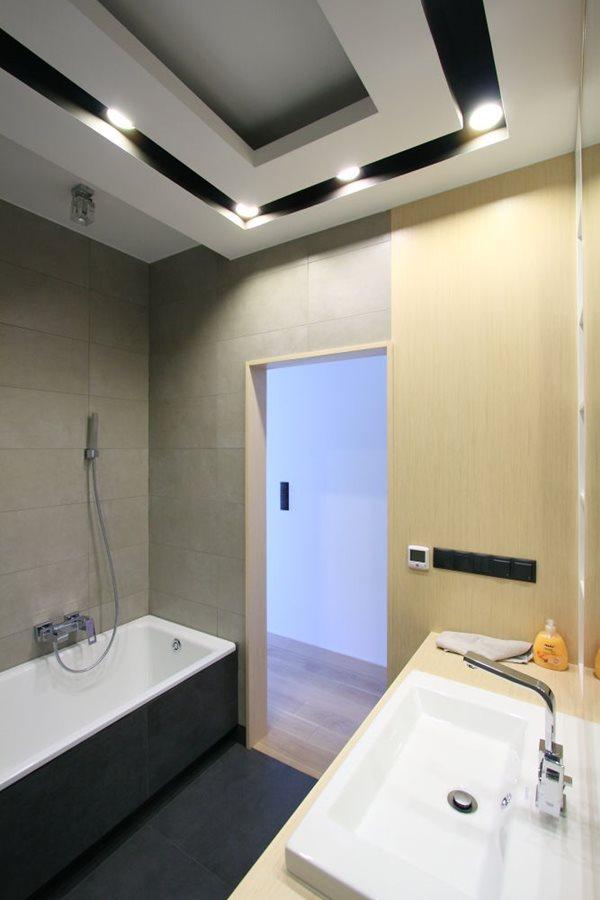 Podwieszany Sufit W łazience Inspiracja Homesquare