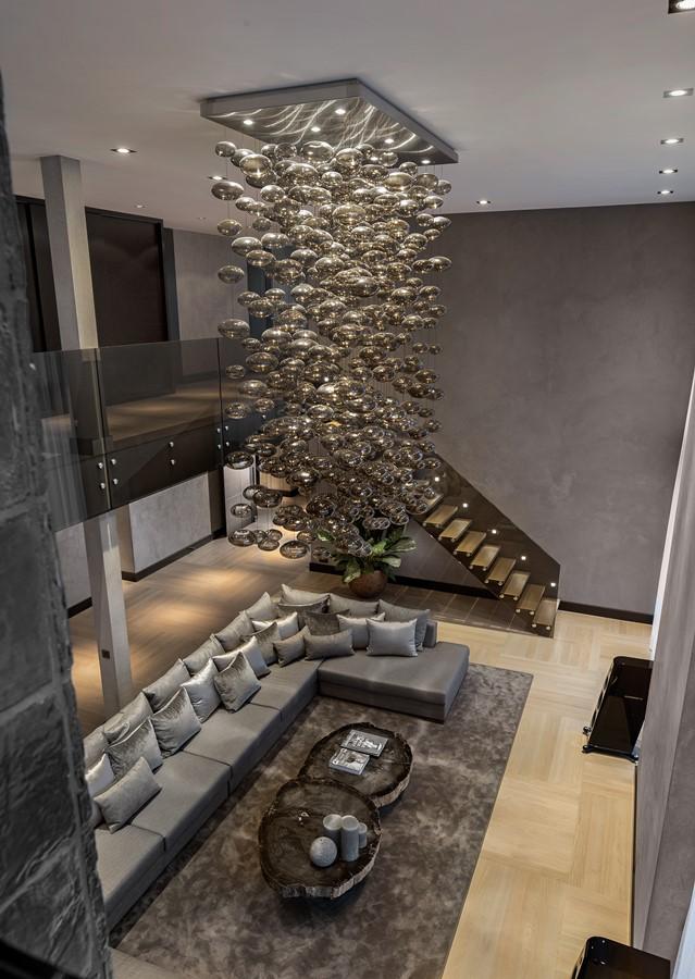 Ekskluzywny Salon Z Wysokim Sufitem Inspiracja Homesquare