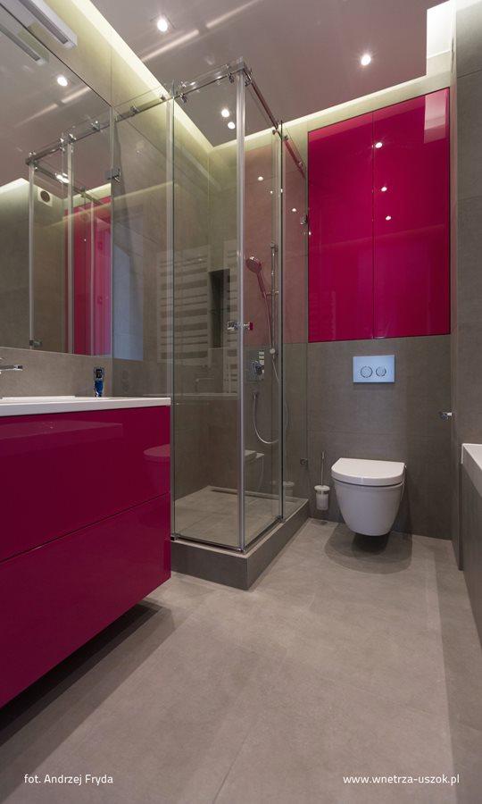 Róż W łazience Przełamanie Monotonii Inspiracja Homesquare