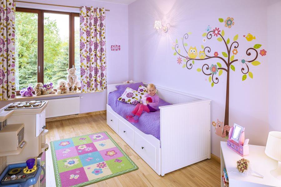 Różowy pokój dziecięcy - pokoje dla dzieci