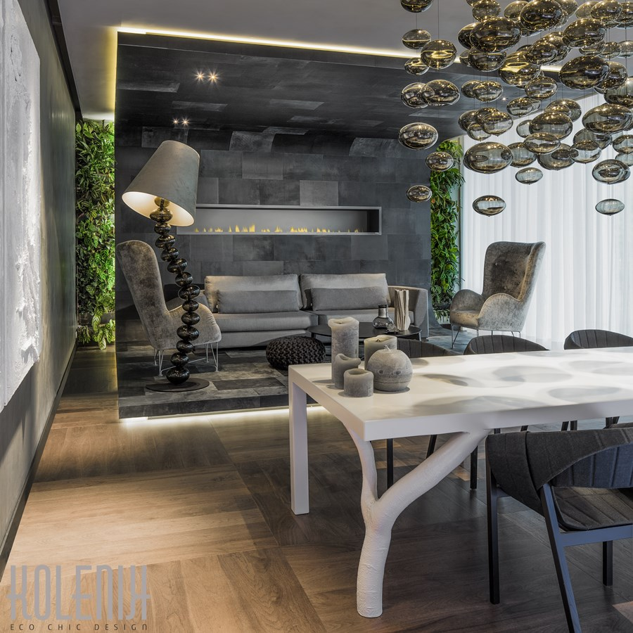 Home Design Ecological Ideas: Salon W Stylu Eko