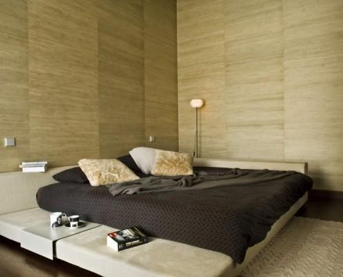 Sypialnia w stylu ekologicznym