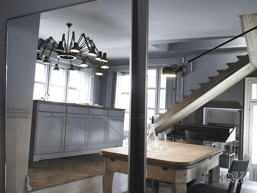 Szara Kuchnia W Drewnie Inspiracja Homesquare