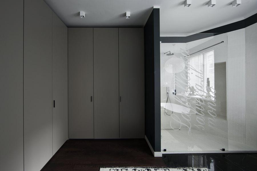 Łazienka w czerni