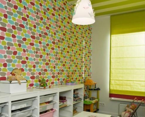 Zielony pokój dla dziecka