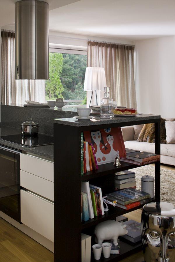 Aranżacja kuchni otwartej na salon  Architektura, wnętrza   # Salon Kuchni Mielec