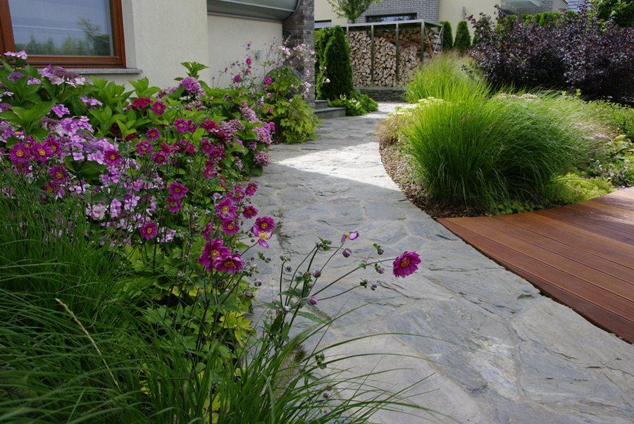 Byliny w ogrodzie - nowoczesne ogrody