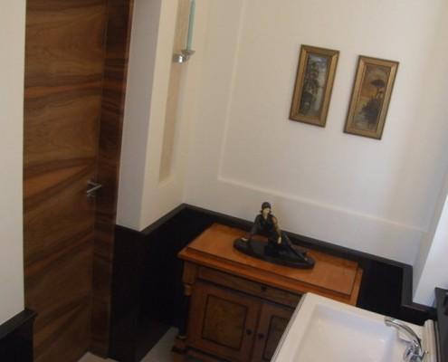 Styl eklektyczny w małej łazience