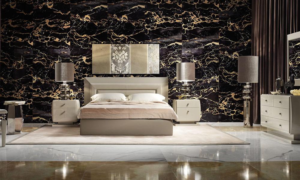 pomys� na sypialnię w wariancie de luxe architektura