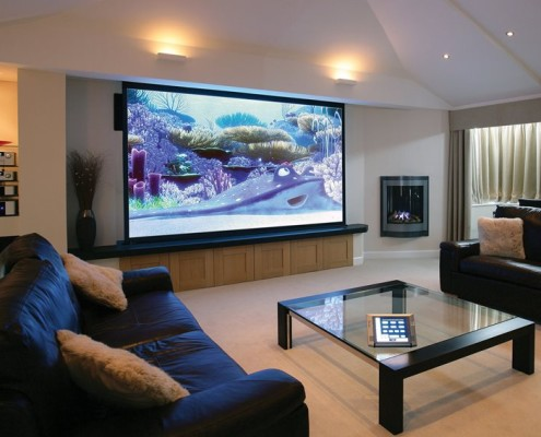 System multiroom w salonie
