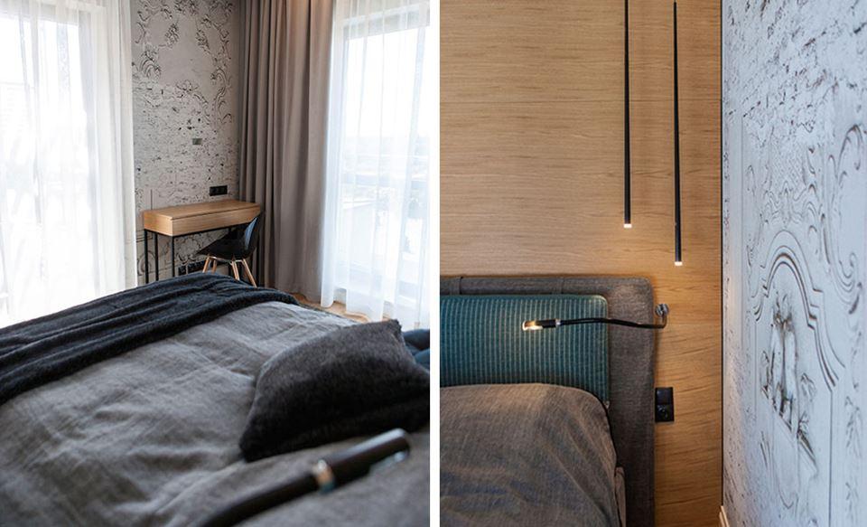Sypialnia W Szarościach I Brązach Inspiracja Homesquare