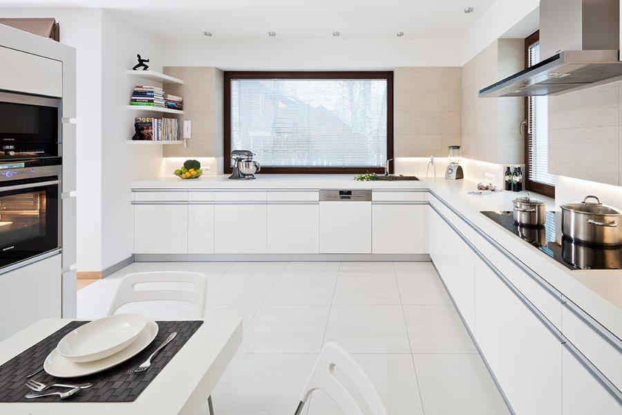 Aranżacja Dużej Kuchni W Bieli Inspiracja Homesquare