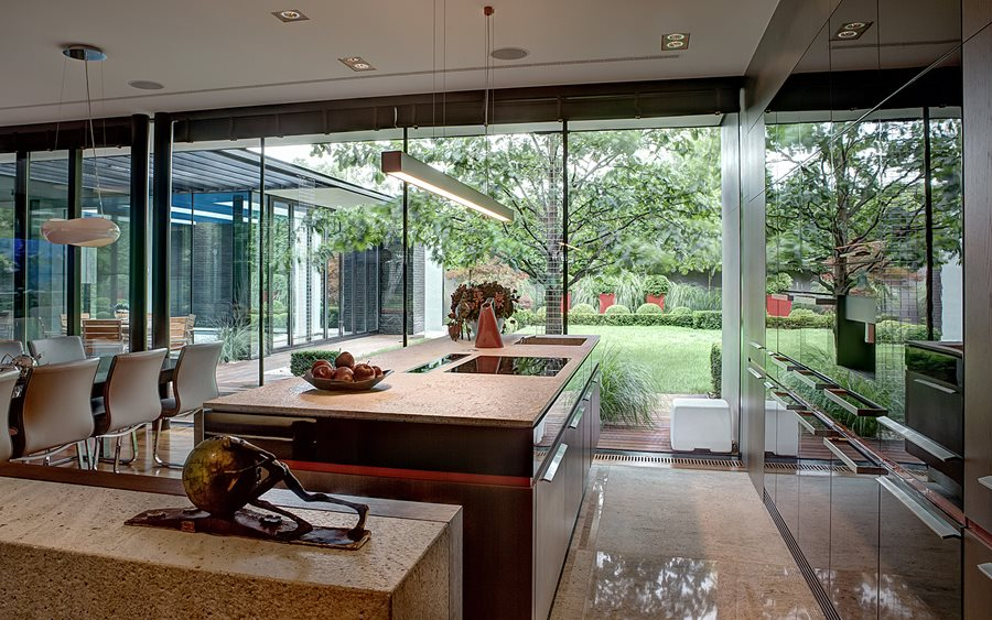 Kuchnia marzeń - najlepiej z ogromnymi oknami