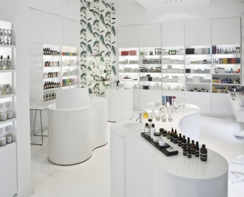 Aranżacja nowoczesnej perfumerii Aranżacja nowoczesnej perfumerii