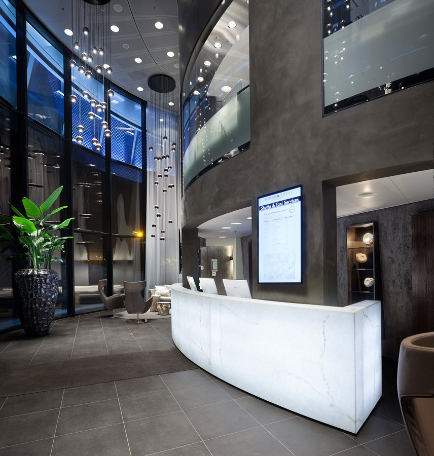 Oryginalny hotel w zjawiskowym wydaniu architektura for Design amsterdam hotel