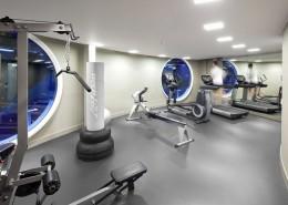 Aranżacja nowoczesnej siłowni