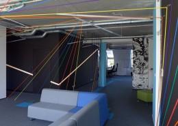 Aranżacja oryginalnego biura projektowego