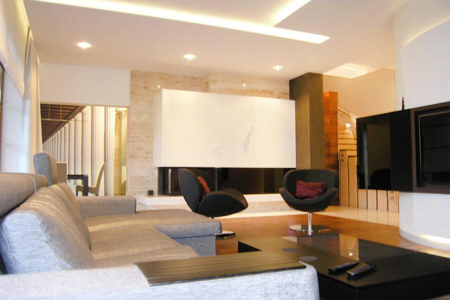 nowoczesny salon w ciep�ych barwach inspiracja homesquare