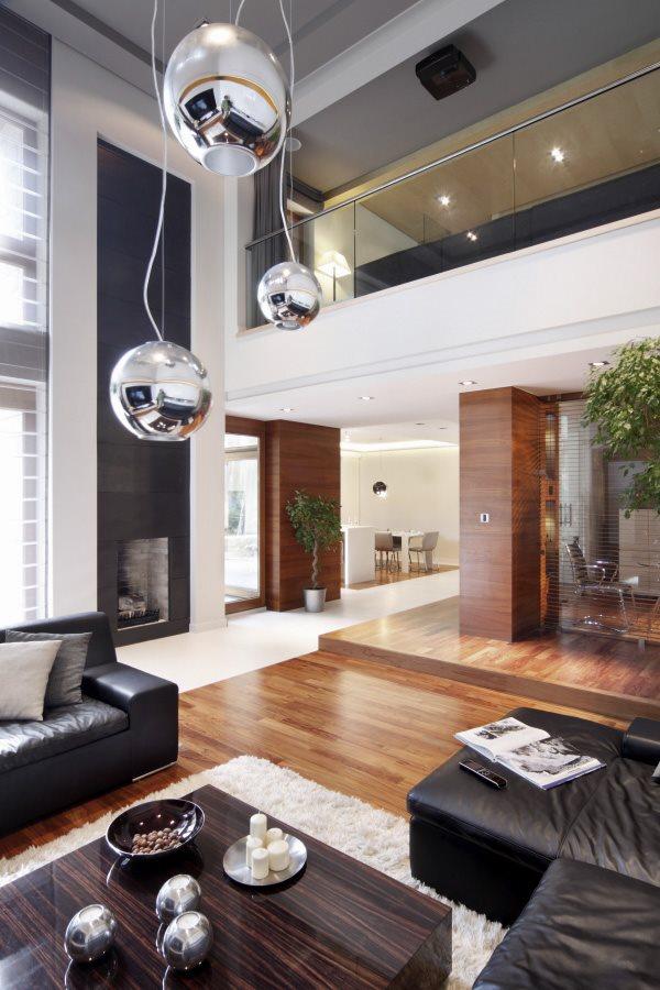 Nowoczesne salony - modern living - Architektura, wnętrza, technologia, design - HomeSquare