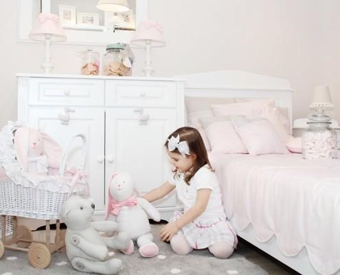 Jasny pokój dla dziewczynki