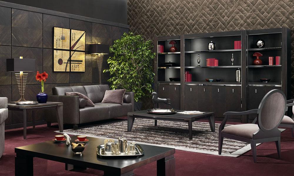 Aran acja salonu w nowoczesnym stylu architektura for Salon art deco