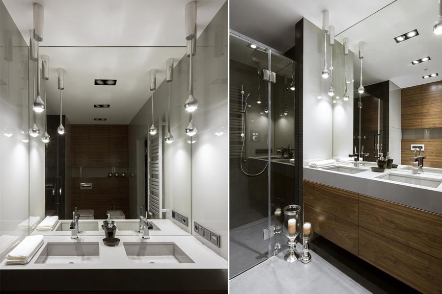 Stylowa łazienka z prysznicem - Hola