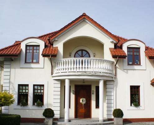 Przestronny dom
