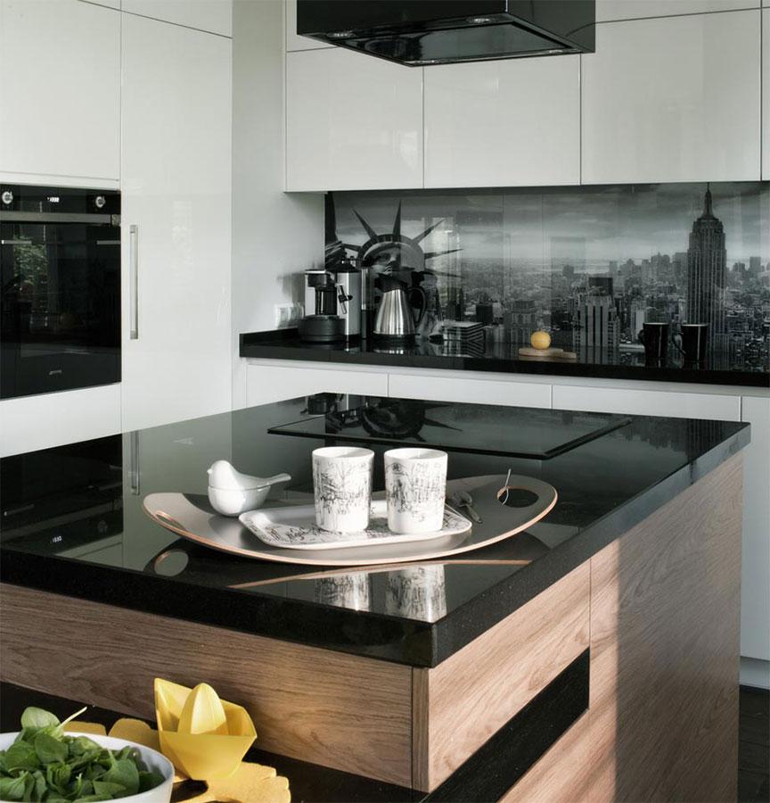 Salon połączony z jadalnią i kuchnią - Architektura, wnętrza, technologia, design - HomeSquare
