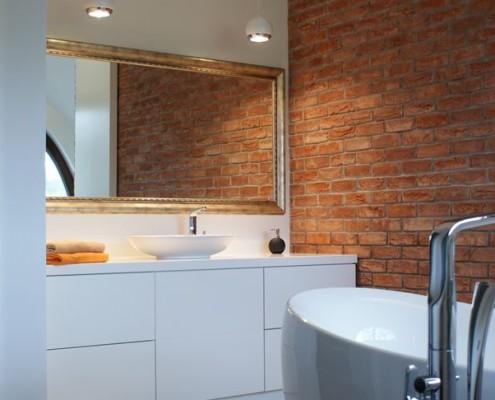 Styl industrialny w łazience