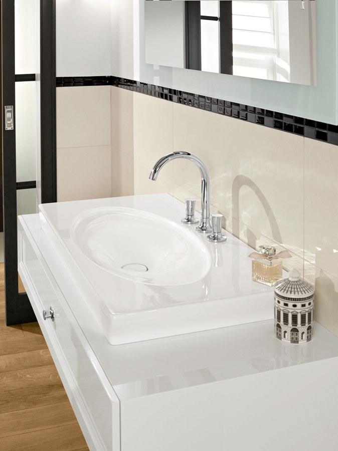 Łazienki w bieli - Villeroy & Boch