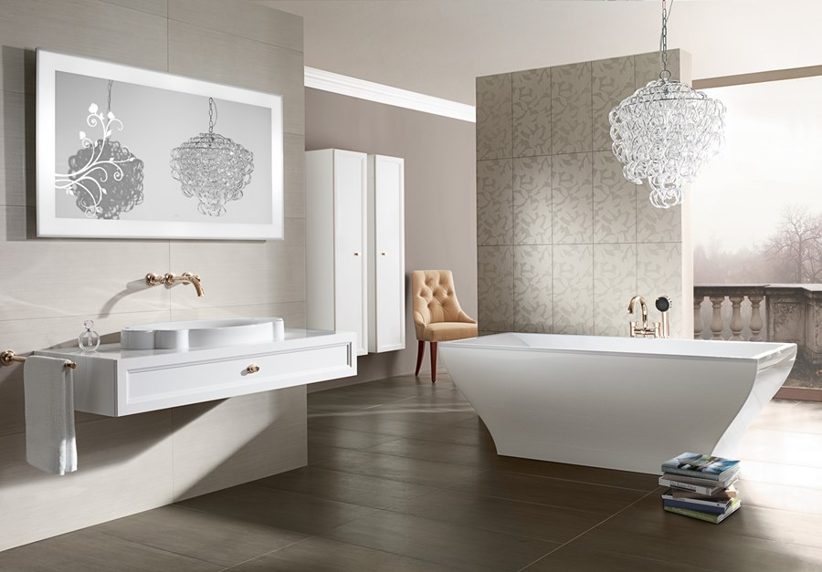 Stylowe łazienki W Bieli Zimowe Inspiracje Artykuły