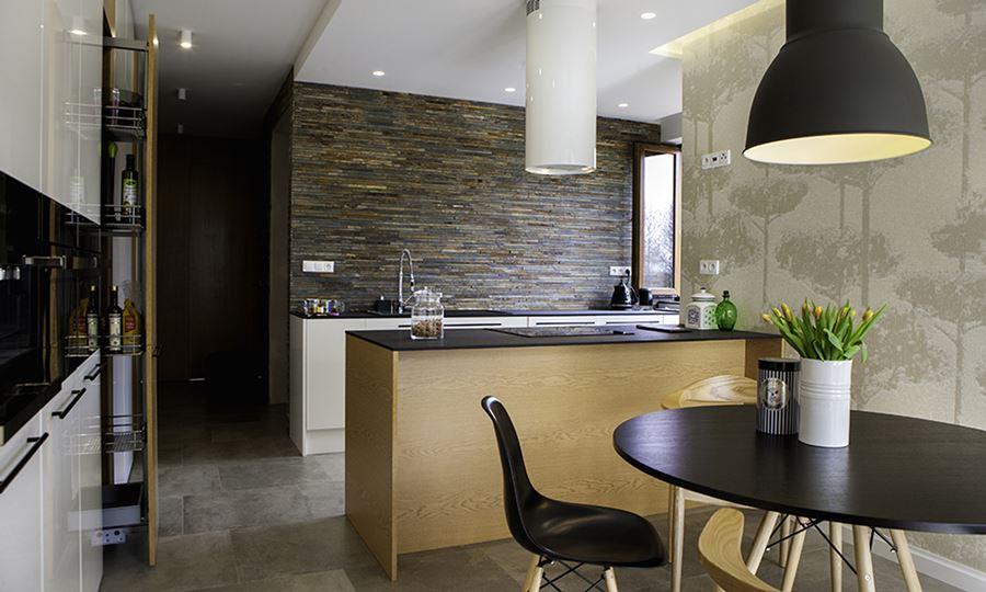 Mała kuchnia z jadalnią  Architektura, wnętrza   -> Kuchnia Z Oddzielną Jadalnią