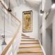 Nowoczesna aranżacja klatki schodowej