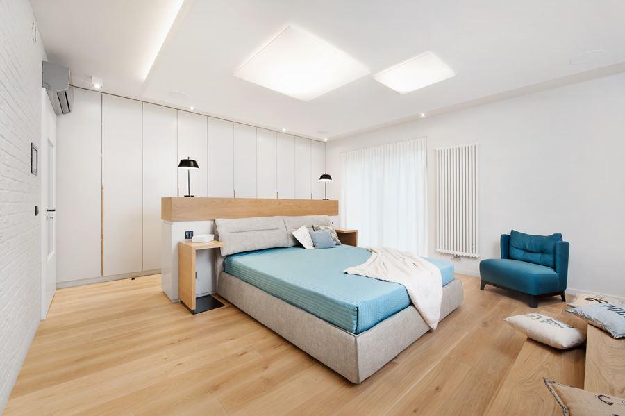 Wystrój sypialni w bieli - Architektura, wnętrza, technologia, design - HomeSquare