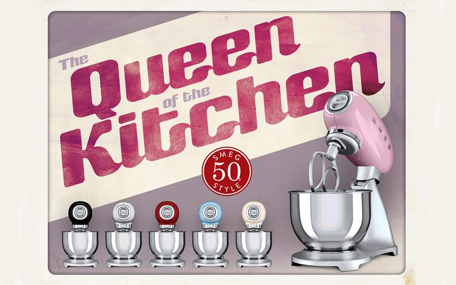 Queen Kitchen Smeg miksery kuchenne