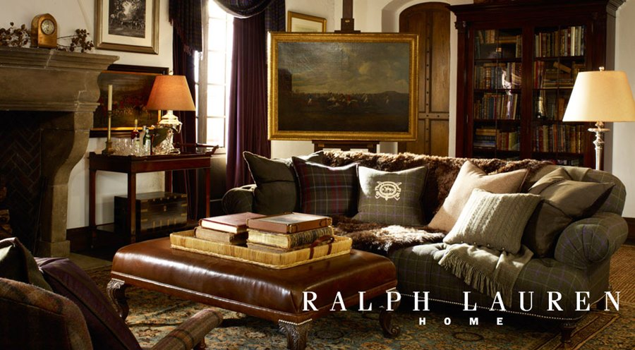 ralph lauren home dom ubrany w luksus architektura. Black Bedroom Furniture Sets. Home Design Ideas